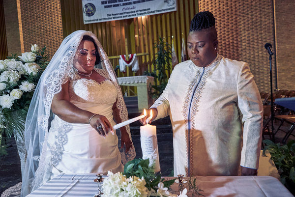 gause lesbian personals Ms brown, 46, and ms gause, 45,  shocking: two female pastors wed in holy matrimony by  relationship and dating.