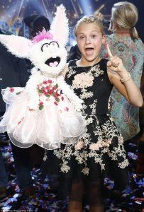 12-year-old ventriloquist Darci Lynne has emerged winner of 2017's America's got talent