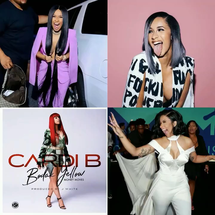 Cardi B Makes History As First Female Rapper To Reach No 1 With Unaccompanied In 19 Years