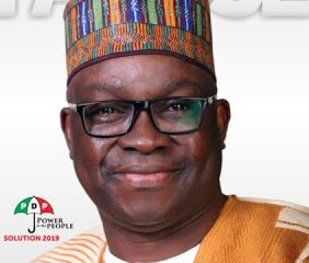 Fayose declares for Presidency