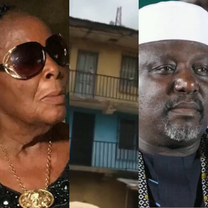 Lady cries out over gov okorocha demolishing grandmas building