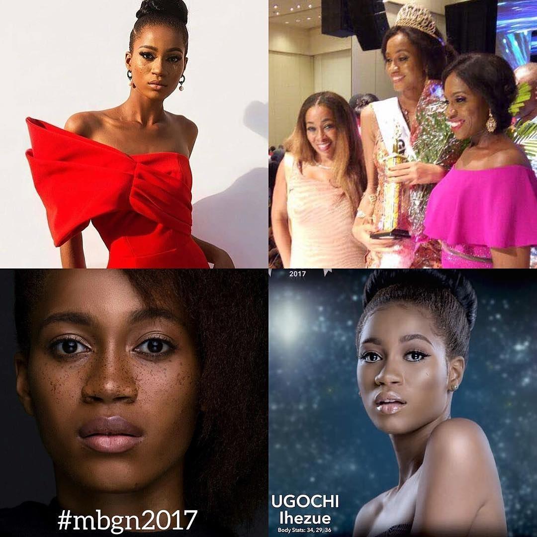 Miss Nigeria 2017 Ugochi Ihuzue