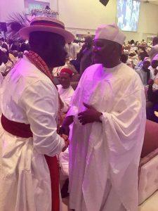 Photos: Osinbajo, Dangote, Tinubu, Ayiri Emami, Other Bigwigs Storm Wedding Of Bukola Saraki's Daughter