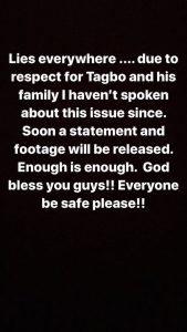 """Lies Everywhere!"" Davido Rants As He Reacts To News He Lied About Tagbo's Death"