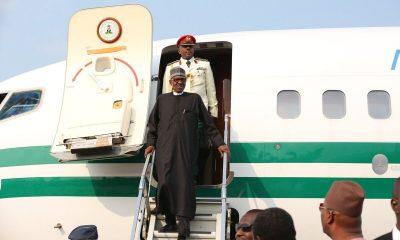 Buhari returns from Niger