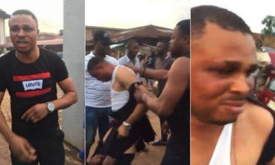 Man brutalized, stripped for _sleeping with policeman's ex-wife_ in Edo