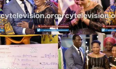 Warri Prophet Fufeyin Of Mercyland Church Gifts Wife N30 Million For Her Birthday