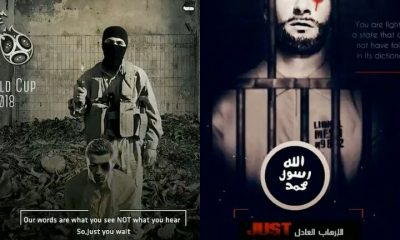 ISIS Vows To Behead Cristiano Ronaldo, Neymar And Lionel Messi Shocking Execution Posters (Look)