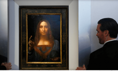 "Da Vinci Portrait Of Jesus Christ ""Salvator Mundi"" To Fetch $100 Million"