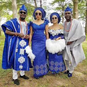 Ay Comedian's Brother Yomi Casual Weds