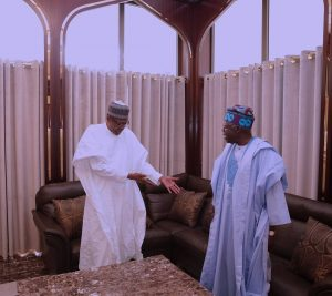 President Buhari Meets With APC Leaders Tinubu, Oyegun, Saraki, Dogara