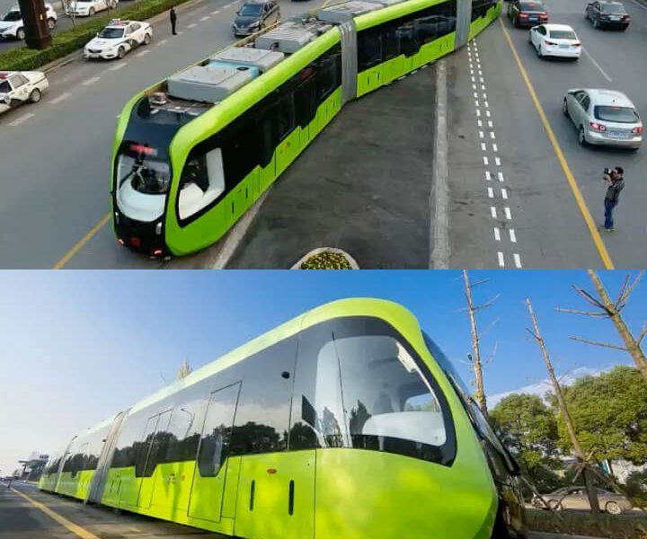 World's First 'Smart Train' Without Tracks To Begin Operation In China (Photos And Video)