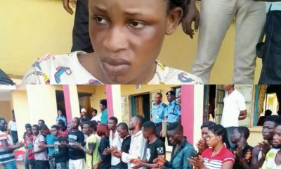 24 Hours To Her Wedding, Bride Is Arrested With Another Boyfriend During Cult Initiation