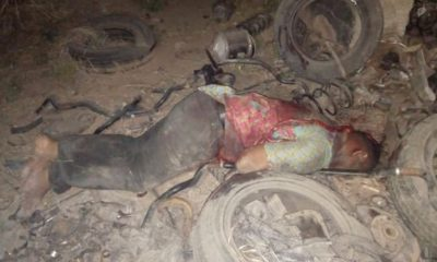 Graphic Photos: Apprentice Apprehended After Slaying Boss