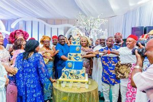 Photos: Patience Jonathan, Other Dignitaries Attend Billionaire Emmanuel Iwuanyawu's 75TH Birthday Party