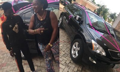Nigerian Boy, 17 Buys His Mother A Lexus SUV (Photos)