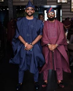 #BAAD2017First Photos From Banky W And Adesua Etomi's Wedding
