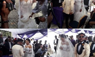 Oritsefemi Holds White Wedding Moments After Traditional Wedding