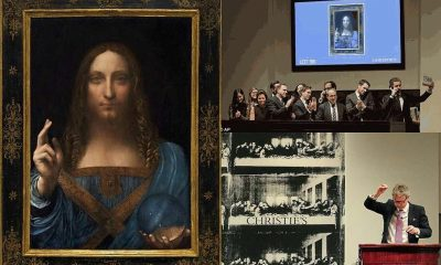 "'Salvator Mundi"" 517-Year-Old Leonardo Da Vinci's Portrait Of Christ Sells For N162billion"
