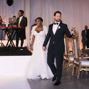 Photos: Serena Williams Marries Alexis Ohanian With Beyonce, Kelly Rowland, Kim Kardashian In Attendance