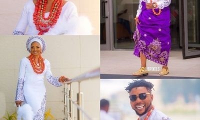 First Photos From Singer Oritsefemi's Traditional Wedding