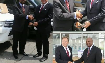 U.S. Boosts Nigeria's Counter-Narcotics Efforts, Donates Vehicles, Tactical Equipment to NDLEA