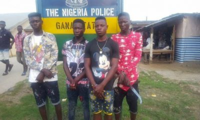 Teenage Cult Boys Apprehended While Attempting Attack On Secondary School