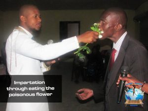 Photos: Controversial South African Pastor Penuel Mnguni Feeds Worshipers Cockroach, Poisonous Flower