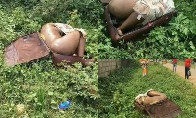Headless Body Of A Lady Found Inside Suitcase In Edo State (Viewer Discretion)