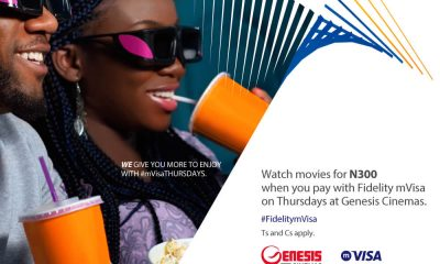 Enjoy Your Favourite Movies At Genesis Cinemas For N300 with Fidelity mVisa