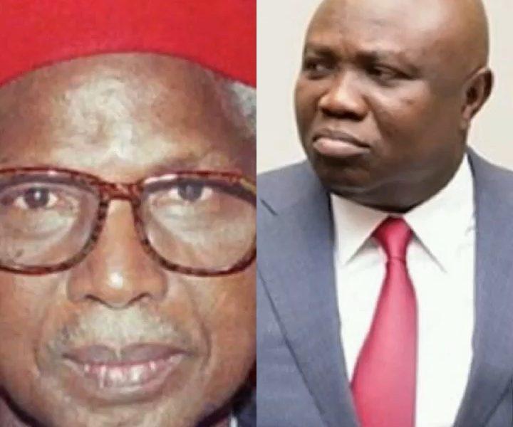 Ambode Mourns Death Of First Vice President, Alex Ekwueme