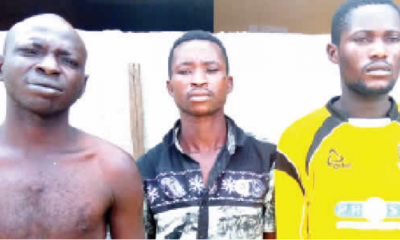 BREAKING: 10 Robbery Suspects Escape From Police Cell