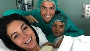 Footballer Cristiano Ronaldo Welcomes 4th Child