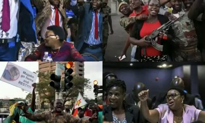 PHOTOS: Wild Jubilation In Zimbabwe As Robert Mugabe Resigns