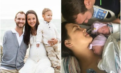 Man born without limbs Nick Vujicic And Wife Welcome Twins