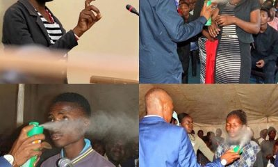 Pastor Charged With Assault After The Congregants He Sprayed With Insecticide, Took Ill