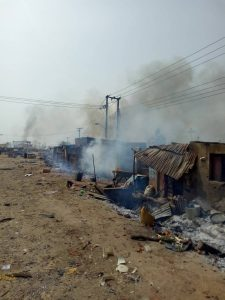 Photos: One Dead, Many Injured As Hausa And Gbagyi Youths Clash In Bwari Near Abuja
