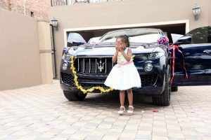 Popular Malawian Prophet Shepherd Bushiri Buys Maserati As Birthday Gift For 6 Year Old Daughter