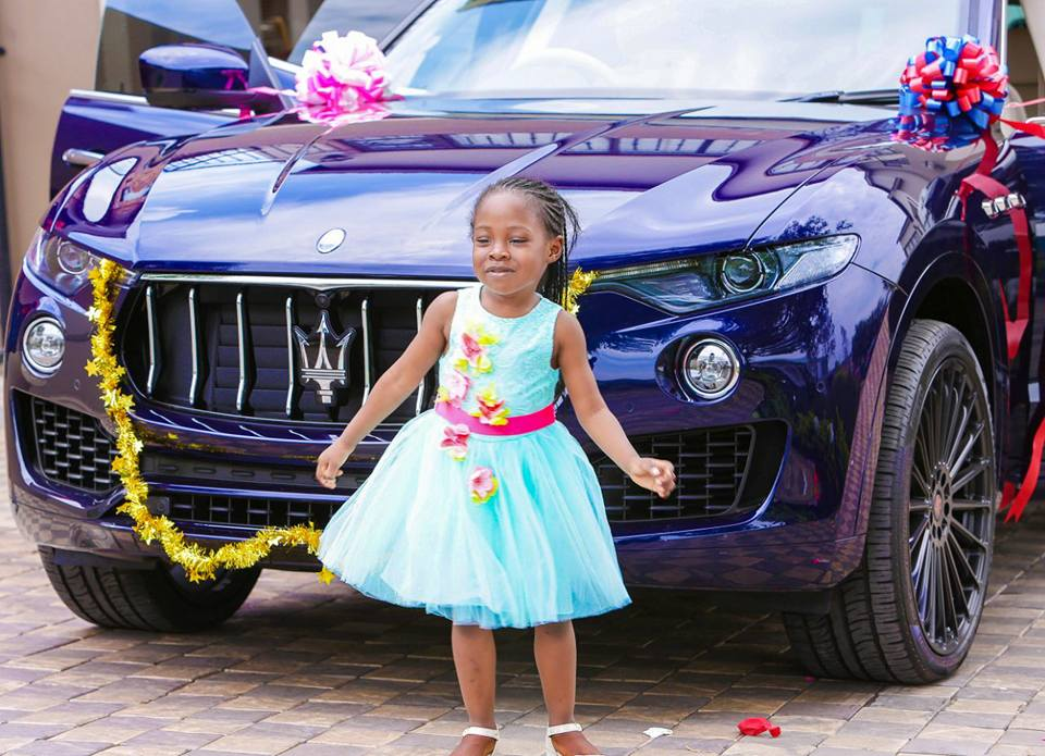 Popular Malawian Prophet Shepherd Bushiri Buys Maserati As Birthday Gift For 6 Year Old Daughter