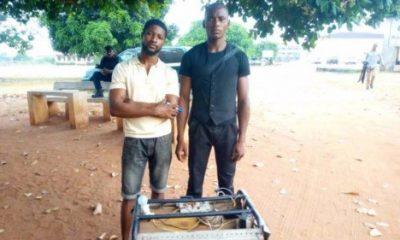 PHOTOS: Nigerian Geniuses Create Generator That Doesn't Use Petrol Or Gas