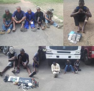 Soldier Arrested For Hijacking Fuel Tanker, Others For Theft And Robbery