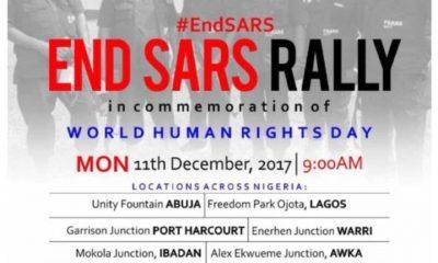 #ENDSARS rally