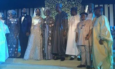 Senator Saraki's Daughter's Wedding In Abuja