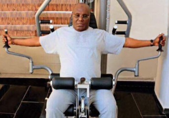 Reno Omokri shares photo of Atiku Abubakar in the gym, says Nigeria needs a leader that is fit