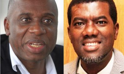 'Rotimi Amaechi is an Ignoramus and Here Are The Facts to Prove it'- Reno Omokri