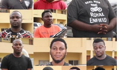 EFCC arrests 13 suspected Internet fraudsters