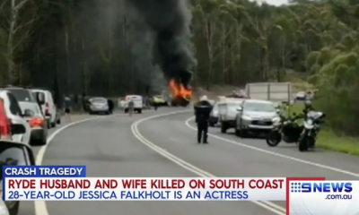Actress Jessica Falkholt And Her Sister Fighting For Their Lives After Car Crash That Killed Their Parents