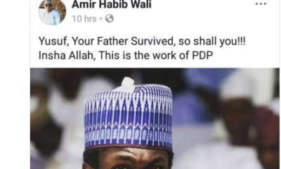 Reno Omokri Slams Nigerian Who Blamed Yusuf's Accident On PDP