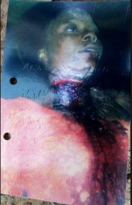 Graphic Photo: 23-Year-Old Man Arrested In Katsina After Slashing Girlfriend's Throat For Planning To Marry Another Man