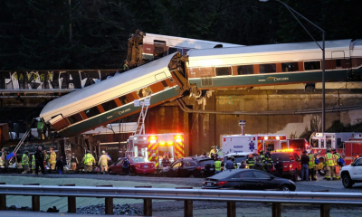 At Least Six Dead, 77 Injured As New Amtrak Train Derails On Its First Day Of Service In The US